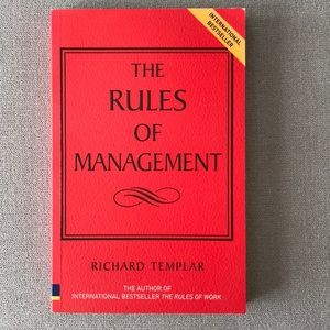 🧊New: The Rules is Management by Richard Templar